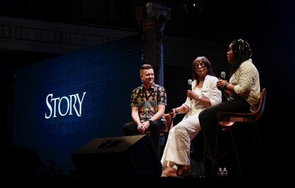 Q&A Session with Lagueria Davis and Beulah Mae from STORY 2018